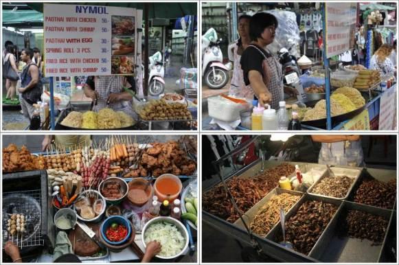 Penjual Pad Thai dan Fried Rice Terenak di Khaosan (Atas), Food Street & Extreme Food di Khaosan