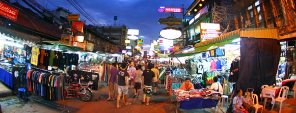 Khaosan Road (Photo By : Bangkok.com)