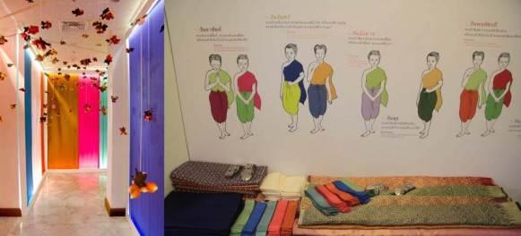 Media Room Untuk Mencoba Baju Tradisional Thailand Secara Gratis