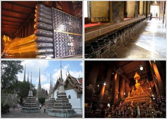 Reclining Budha (Kanan Atas), Mangkok Donasi (Kanan Atas)