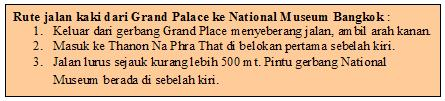 Rute ke national museum