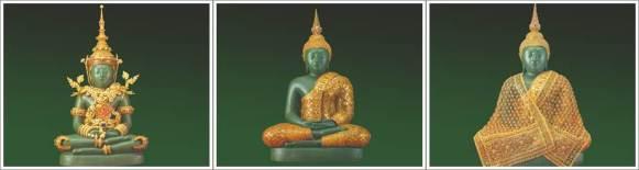 The Attire of Emeral Buddha