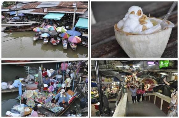 Amphawa Floating Market dan Es Krim Kelapanya