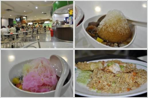 Food Court di Century Mall dan Beberapa Makanan yang Kita Beli