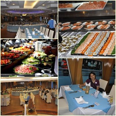 Bagian Dalam Kapal Riverside Bangkok Dinner Cruise