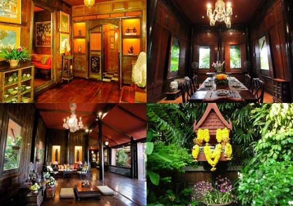 Bagian Dalam Jim Thompson House (Photo By : amusea museum)