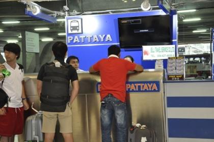 Counter Bell Service di Suvarnabhumi Airport