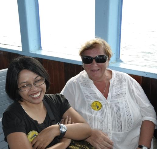 Mama Rusia dan Mama Indonesia :)
