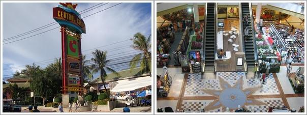 Bagian Depan dan Dalam Central Centre Pattaya dan Big C Department Store