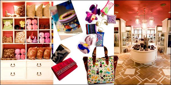 Beberapa Produk Kerajinan dari Anggota SUPPORT Foundation dan Tokonya Di Grand Palace