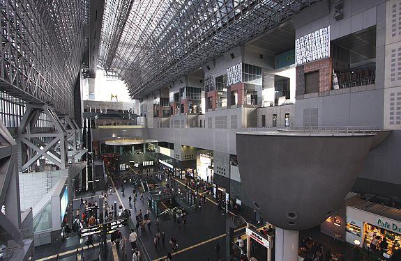 Bagian Dalam Kyoto Station
