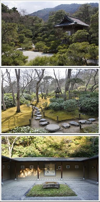 Jibutsudō (Atas), Taman Di Depan Tekisuian (Tengah) Museum for Denjirō Ōkōchi (Bawah)