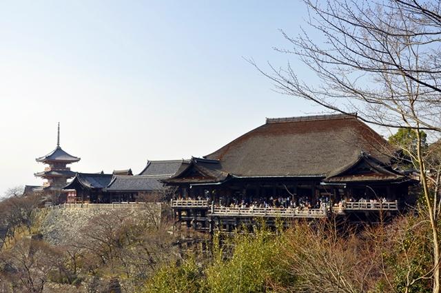 Main Hall dan Panggung Kayu Kiyomizudera