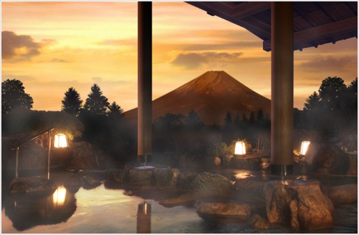 Onsen di hotel Green Plaza Hakone (Biaya Masuk Y 1600 per 3 jam) Photo By : Hotel Green Plaza Hakone