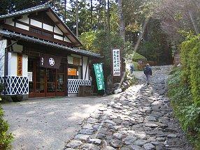 Jalan Batu dari Old Tokaido yang tetap dipertahakan antara Hatajuku dan Moto-Hakone (Photo by : http://www.japan-guide.com)