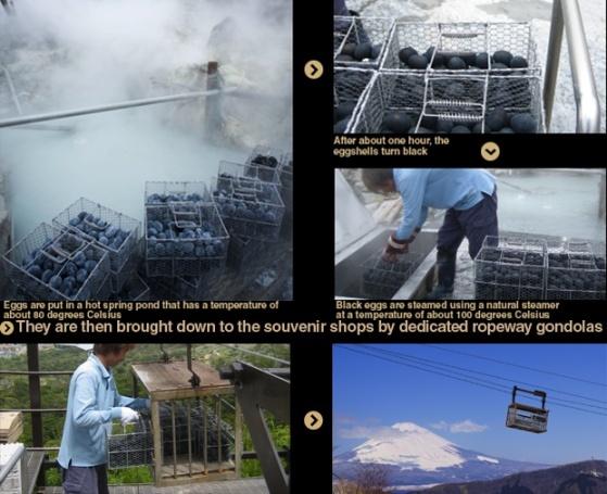 Proses Pembuatan Kuro Tamago (By : owakudani.com)