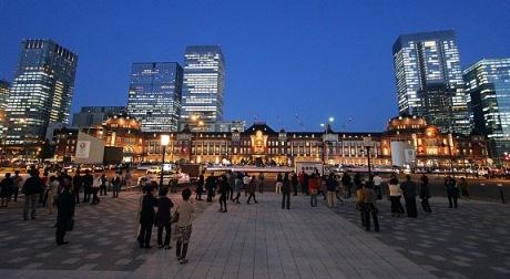 Bagian Luar Tokyo Station (Photo By :japanguide.com)