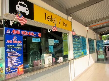 Taxi Counter di Putrajaya