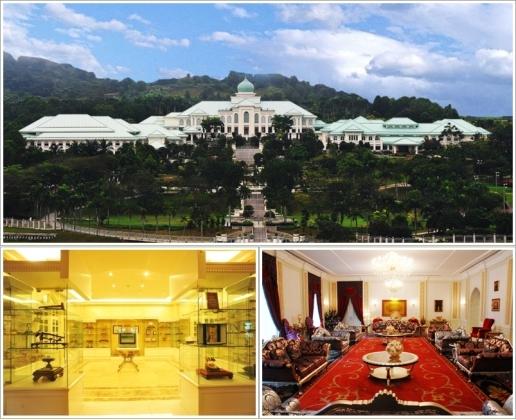 Bagian luar Seri Perdana Complex (atas), Banquet Block (kiri), Protocol Block (kanan) Photo by : seriperdana.gov.my