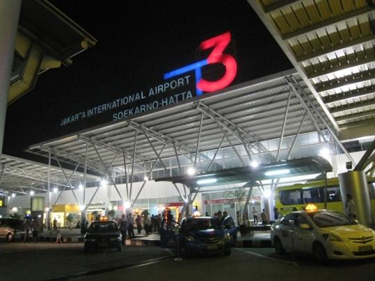 Bagian Depan Terminal 3 Bandara Soekarno Hatta