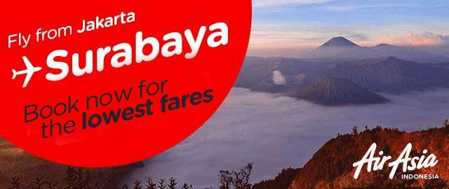 Promo Air Asia Rute Jakarta - Surabaya