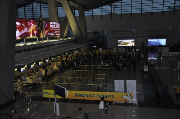 Bagian Dalam Terminal 3 NAIA Domestic Flight