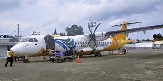 Propeler Plane Menuju Boracay
