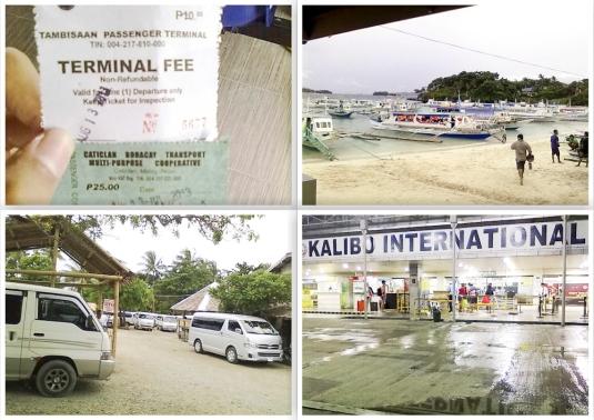 Minivan menuju Kalibo Airport (Photo by : Ouele, Kaskuser)