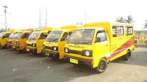 Yellow Cab Baclaran - SM Mall Of Asia via EDSA