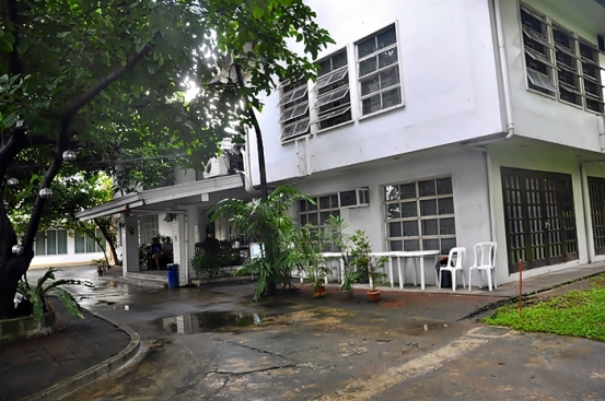 Bagian Depan Manila Intenational Youth Hostel