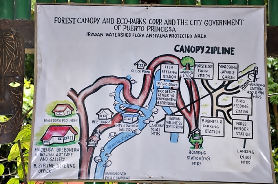 Peta Irawan Eco Park