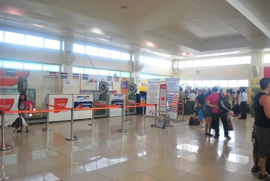 Bagian Dalam Puerto Princesa Airport