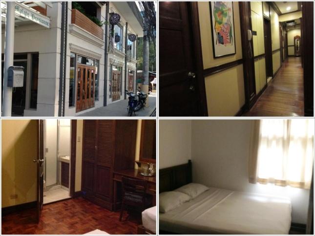 Bagian luar dan dalam Malate Pensionne Hotel