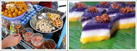 Penjual Makanan Jalanan di Filipina (Kiri) dan Sapin-Sapin (Kanan)