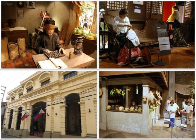 Bagian Depan dan Bagian Dalam Museum Bahay Tsinoy