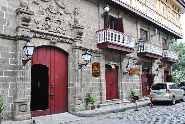 Bagian Depan Casa Manila