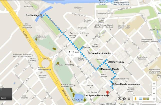 Walking Tour Intramuros