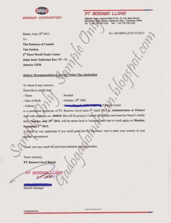 Contoh Surat Keterangan Kerja (Photo By : Susy Fierce http://gadogadoindocan.blogspot.com)