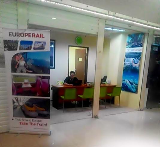Kantor Eurail Pass di Surabaya (Photo by : Andreas Prayoga)