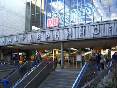 Salah Satu Sudut Munich Hauptbahnhof