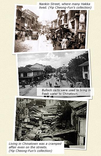 China Town Singapura Jaman Dulu