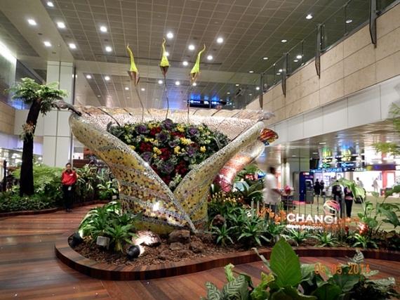 Salah Satu Sudut Terminal 2 Changi Airport