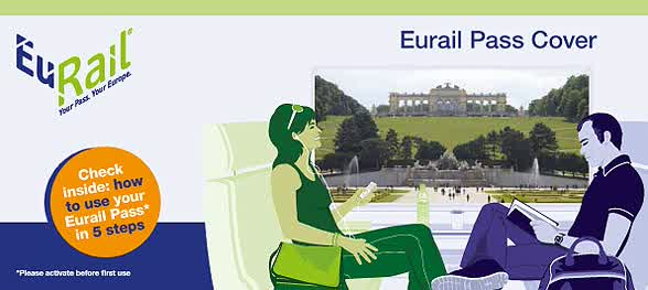 Sampul Depan Eurail Pass