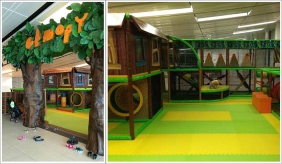 Canopy Playground dan bagian dalamnya