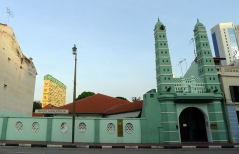 Bagian Depan Masjid Jamae Chulia