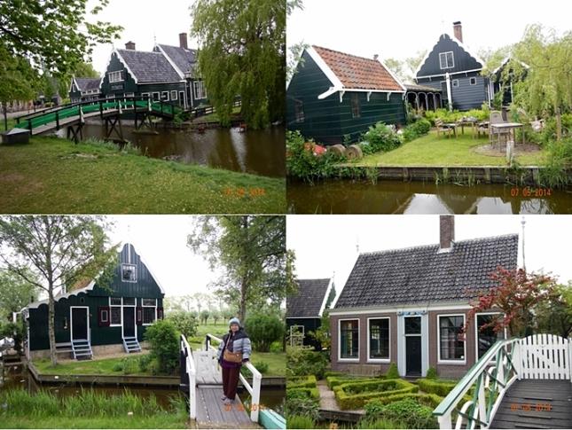 Rumah-rumah kuno di Zaanse Schans