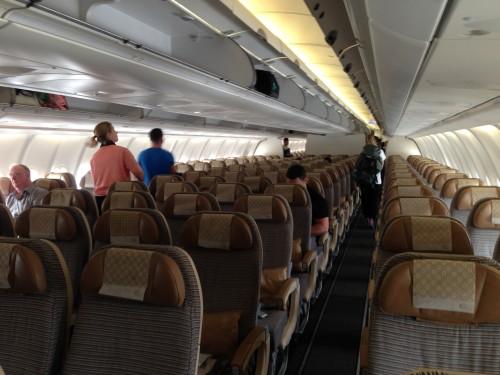 Bagian Dalam Etihad Airways