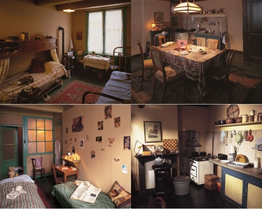 Berbagai sudut Anne Frank House Museum (Photo By : www.annefrank.org)
