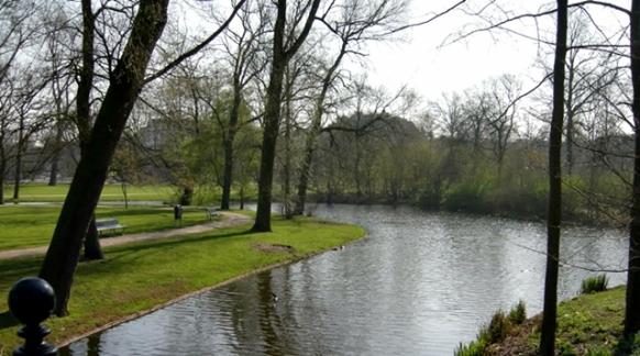 Salah satu sudut Vondel Park