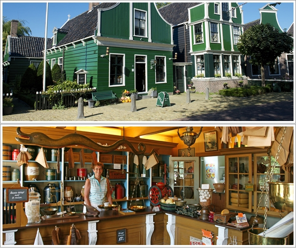 Albert Heijn Museum Shop (Photo by : http://www.dezaanseschans.nl)